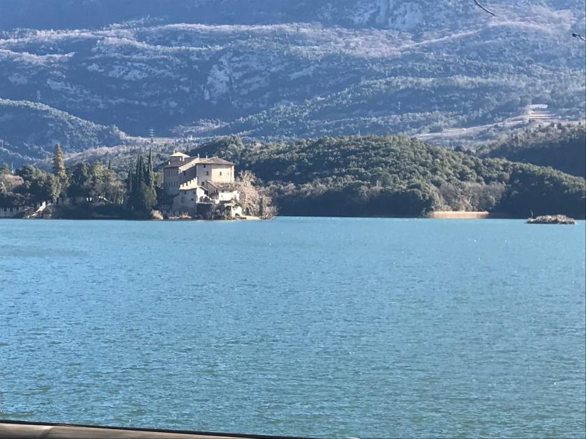 Trento Castle on Water